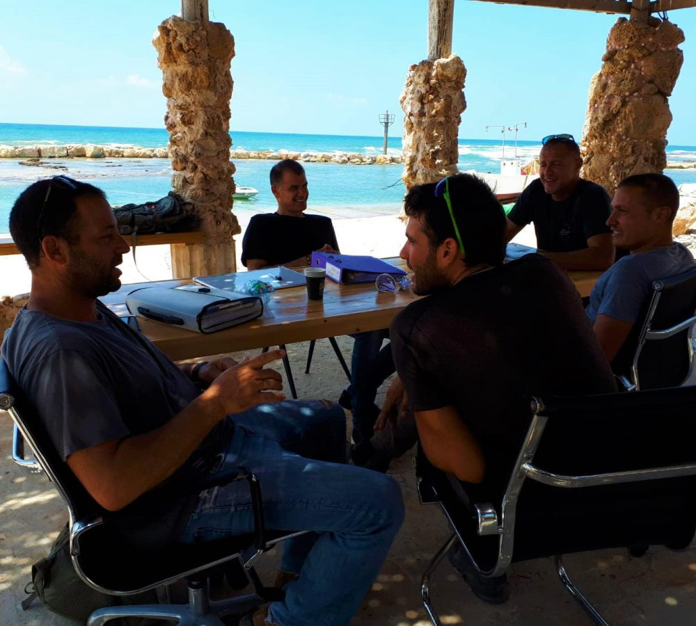 menagement meeting at beachub